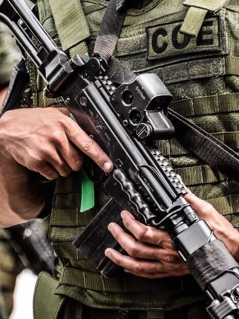 Policial Militar do Comados e Operações Especiais