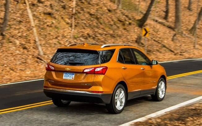 desempenho é um dos principais atributos do Chevrolet Equinox, que pode acelera de 0 a 100 km/h e 7,6 segundos
