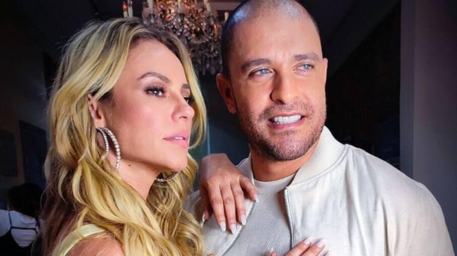Diogo Nogueira posta spoiler de clipe com a namorada Paolla Oliveira