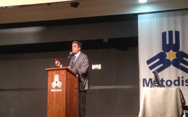 José Eduardo Cardozo falou na Universidade Metodista de São Paulo
