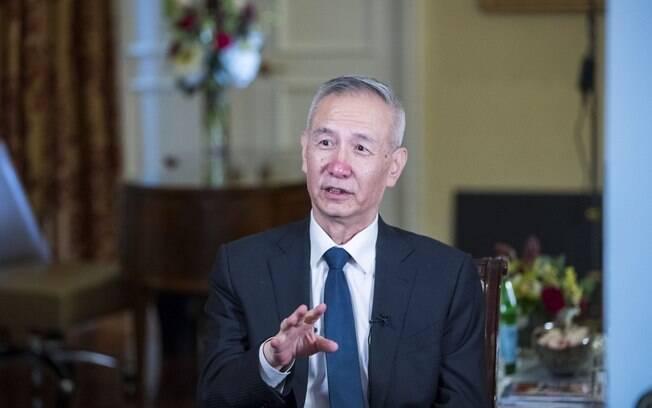 Liu He estará nos EUA nos próximos dois dias para tratar assuntos econômicos