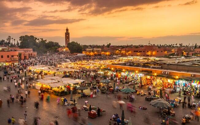Marrakech, no Marrocos, é uma ótima opção para os turistas que querer conhecer uma rica e diferente cultura