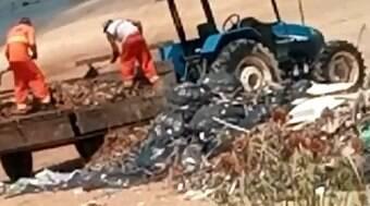 Prefeitura deposita lixo hospitalar em praia do RN