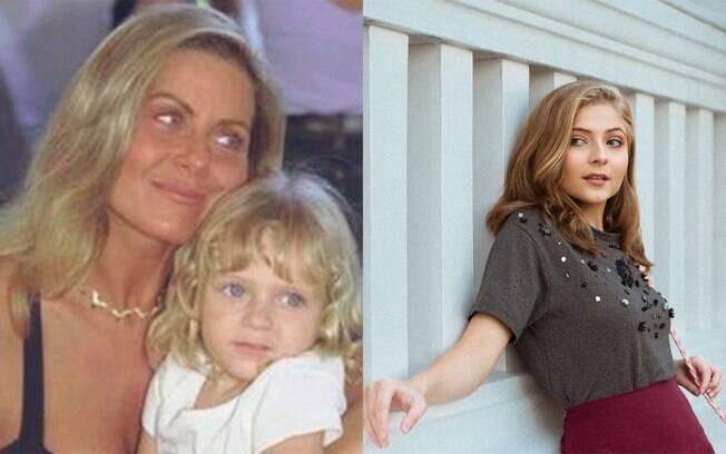 Júlia Maggessi viveu Nina, a neta de Helena, em