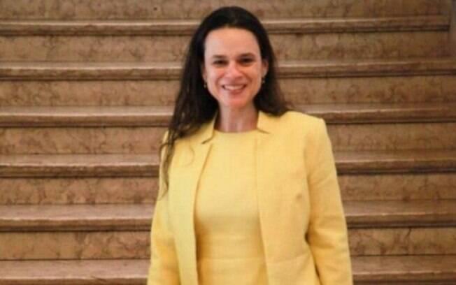 A jurista Janaína Paschoal fez discurso emocionado em ato a favor da saída de Dilma Rousseff