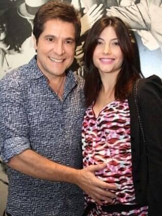 Nasceu nesta segunda-feira (09) a segunda filha, Luiza, filha do cantor Daniel e a mulher, Aline de Pádua