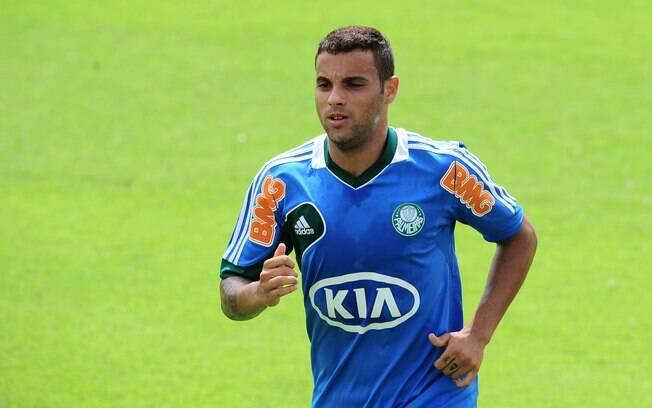 Weldinho: lateral direito estava no  Corinthians desde 2011, mas perdeu espaço no time  e foi para o Palmeiras
