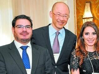 Três grandes defensores da liberdade: Rodrigo Constantino, William Ling e Tatiana Mattar
