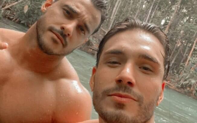 Orlandinho Milanello e Lucas Viana