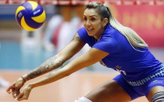 Thaisa, com 31 anos, é a única remanescente do grupo bicampeão olímpico da seleção brasileira feminina de vôlei