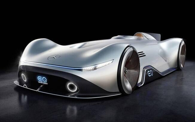 Mercedes-Benz conceitual une a história de vitórias em corridas com o futuro dos carros de alto desempenho