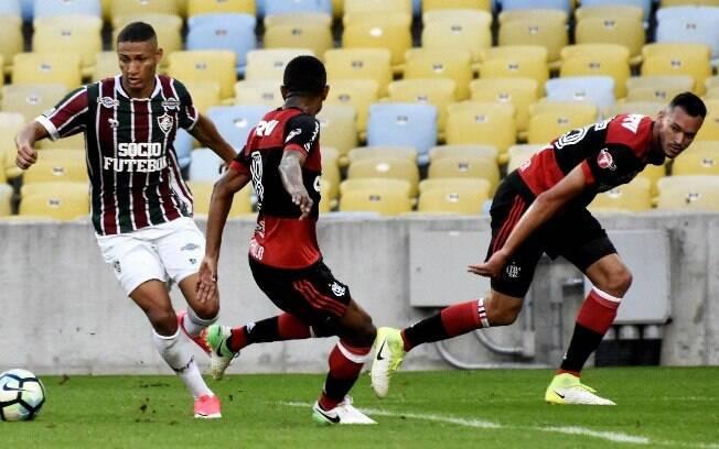 Flamengo e Fluminense empataram no clássico da rodada do Brasileirão