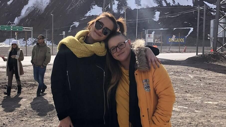 Amanda Iohn e Kathelin Matias estão juntas há quatro anos