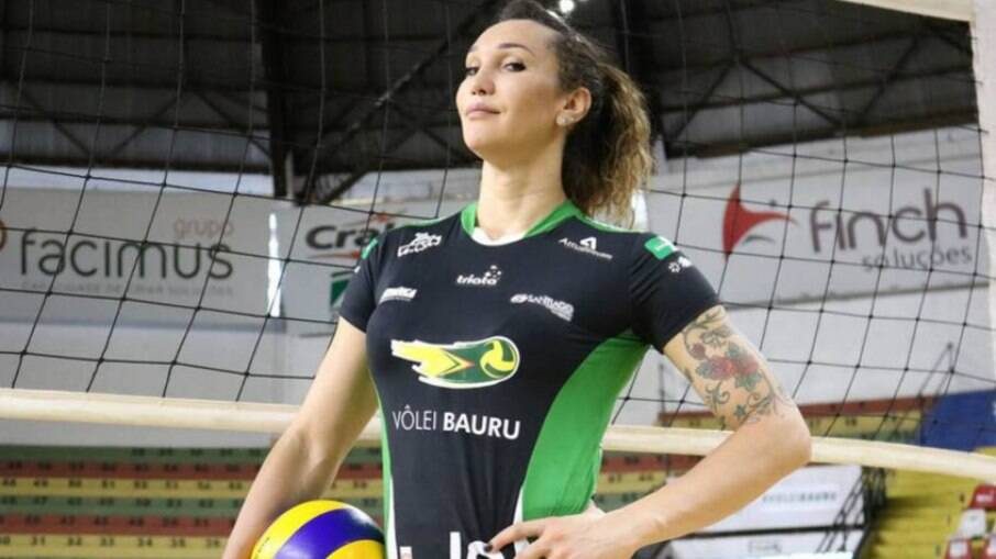 A jogadora de vôlei Tiffany Abreu