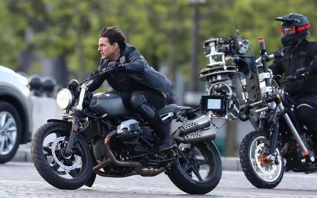 Não é a primeira vez que o ator demonstra interesse nas BMW para gravar Missão Impossível