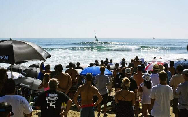 Trestles é um dos picos mais famosos do mundo para a prática do surfe