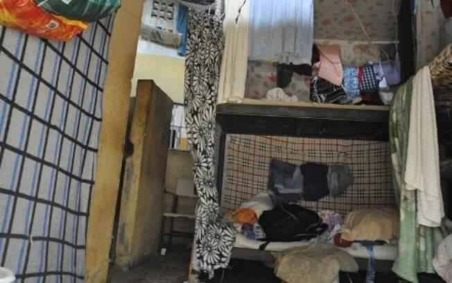 Cela de presídio no Complexo Prisional de Aparecida de Goiânia