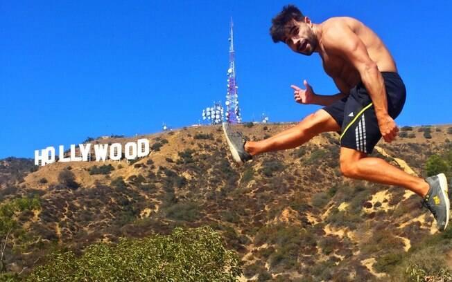 Conhecer o famoso letreiro de Hollywood foi uma das coisas que mais marcou o viajante dentre as experiências que teve
