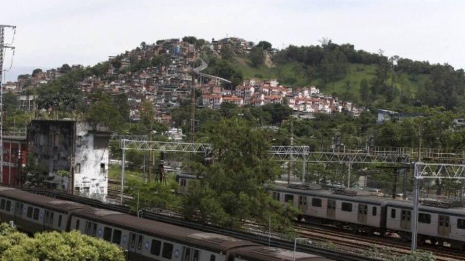 TIroteio na comunidade da Mangueira