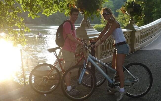 Alugar bicicleta é uma ótima opção para conhecer o Central Park