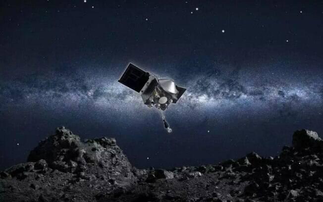 Objetivo da missão é coletar material rochoso  do asteroide.