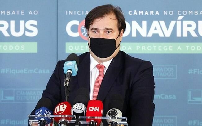 Rodrigo Maia (DEM-RJ), presidente da Câmara