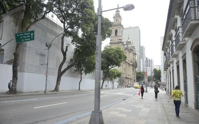Comércio do Rio de Janeiro fechado