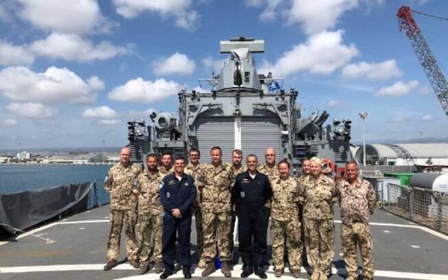 Segundo a Marinha, a Fragata Independência está