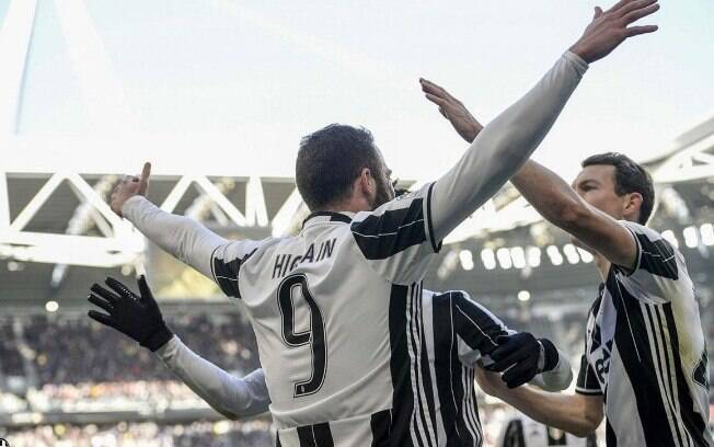 A Juventus é a atual pentacampeã do Campeonato Italiano