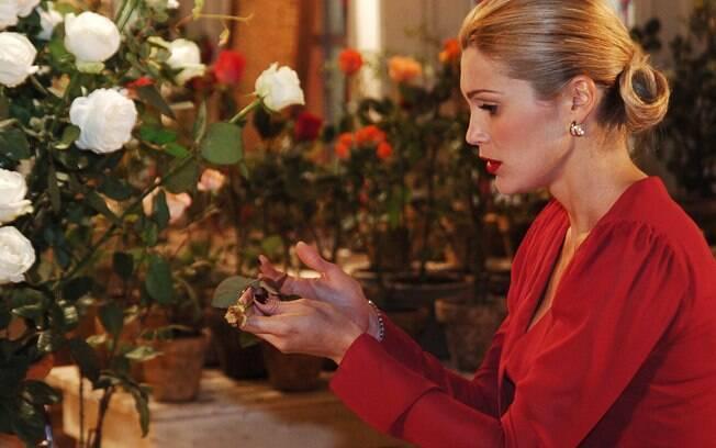 Cristina (Flávia Alessandra), a mórbida vilã de