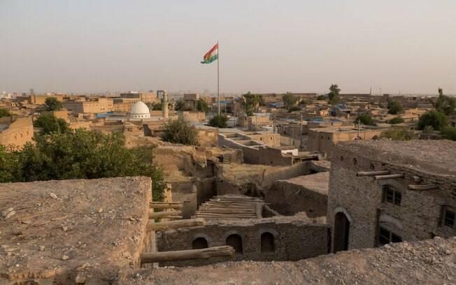 A cidadela de Erbil é um dos principais pontos turísticos do Curdistão iraquiano