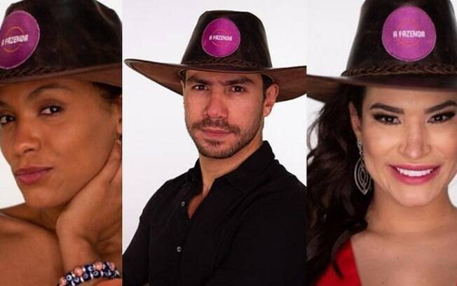 A Fazenda 2020: Lidi, Mariano e Raissa