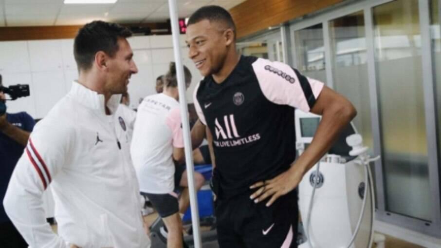 Messi e Mbappé