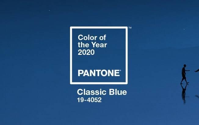 O 'Classic Blue' foi a tonalidade escolhida pela Pantone para ser a cor do ano 2020 e você pode incluí-la nas suas unhas