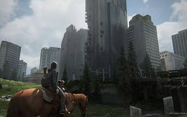 Cena de The Last of Us Part II, que será lançado em maio