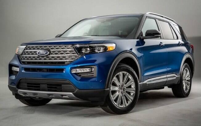 O Explorer, um SUV grande, já foi apresentado para a imprensa e chega ao mercado mundial em 2020