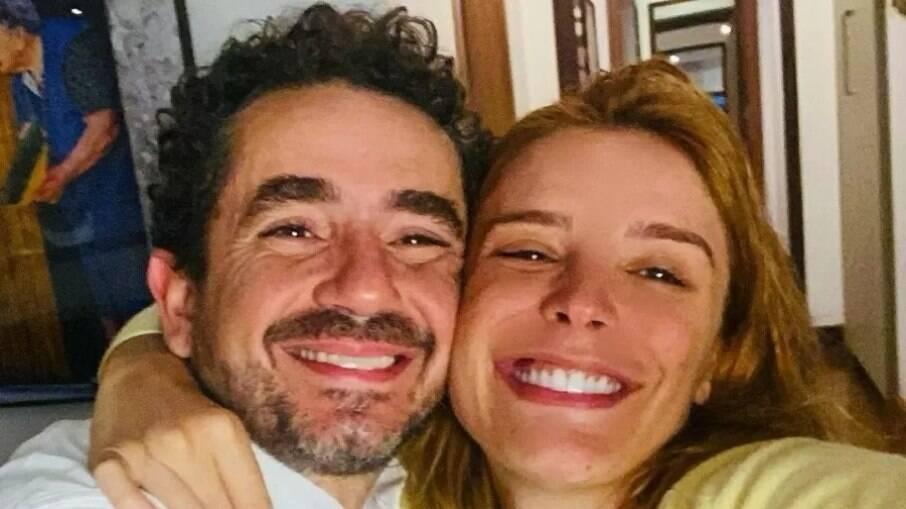 Felipe e Andreoli e Rafa Brites anunciam segundo filho
