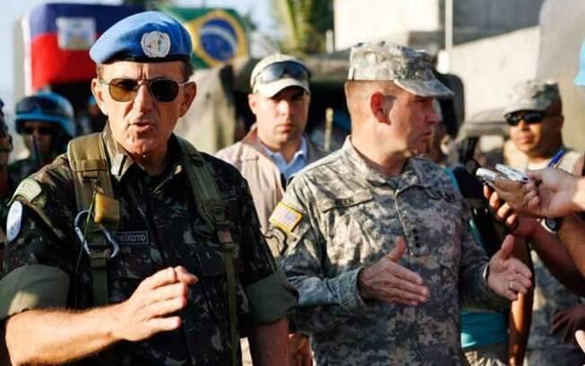 General Floriano Peixoto comandou missão da Onu no Haiti logo após terremoto que atingiu ilha em 2010