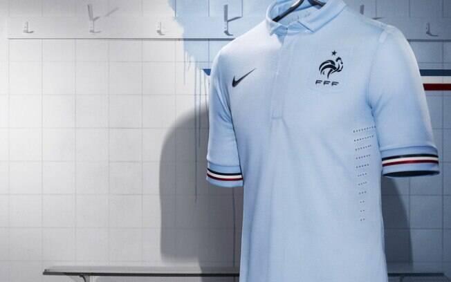 Nova camisa número 2 da seleção da França