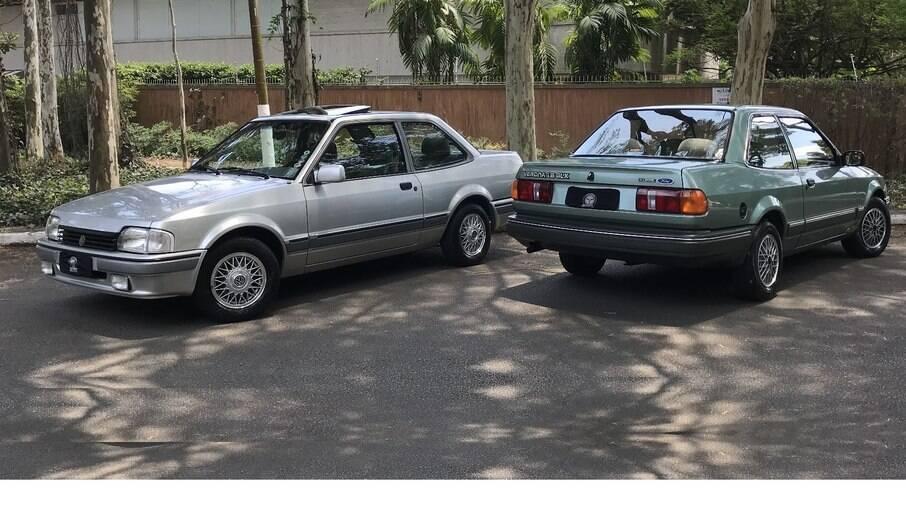Apollo e Verona: sedã da Ford serviu de base para modelo feito em parceria com a Volkswagen