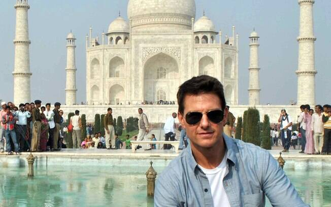 Tom Cruise divulga longa na Índia