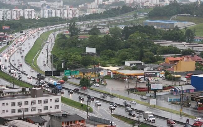 BR-101 na altura de Santa Catarina; trecho da rodovia deve ser privatizada em 2020