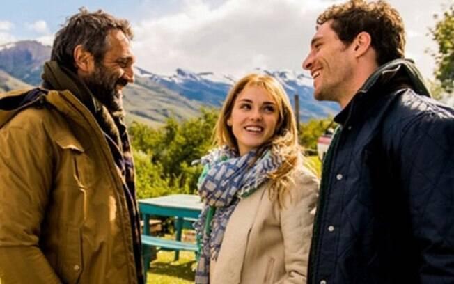 Um dos belos cenários de 'Sete Vidas' na viagem do trio Miguel, Júlia e Felipe
