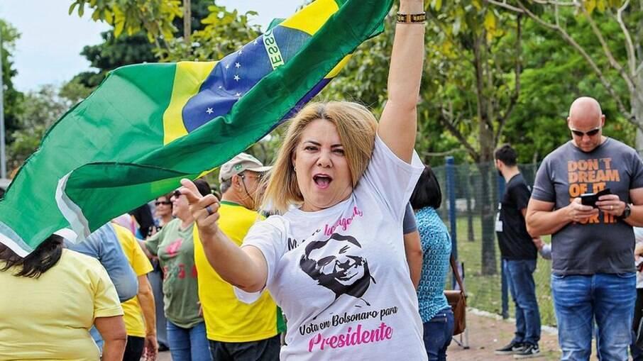 Ex-esposa do presidente Jair Bolsonaro (sem partido), Ana Cristina Siqueira Valle