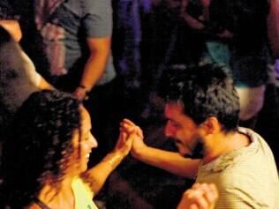 Colombiano Santiago Lozano disse que estava adorando aprender a dançar
