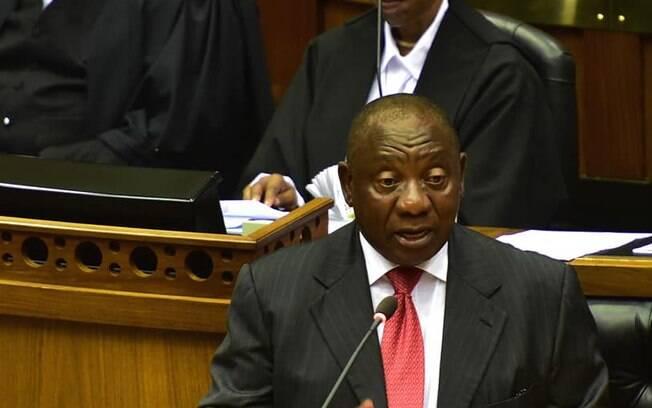 Cyril Ramaphosa, eleito novo presidente da África do Sul