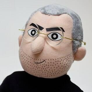 Boneco de Steve Jobs é feito de espuma e será vendido por US$ 60 nos EUA