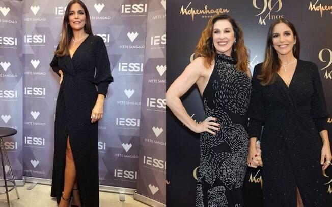 Ivete Sangalo é uma das famosas  que apareceram fashion e  arrasaram nos looks durante a semana
