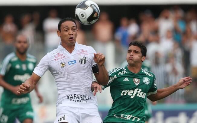 Santos e Palmeiras se enfrentam nesta quarta-feira (09)