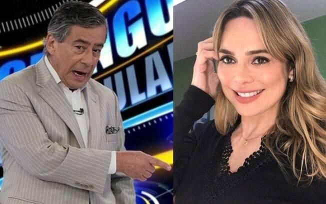 Paulo Henrique Amorim e Rachel Sheherazade recebem apoio